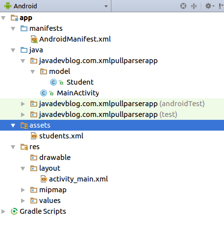 assets-in-android-studio